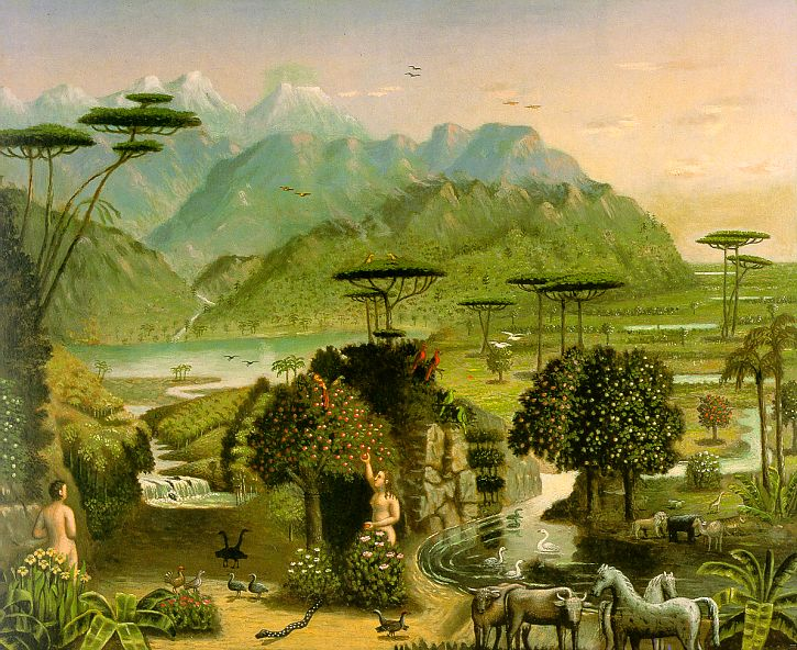 Historical creation view of sailhamer part 5 naturalis for Creation gardens
