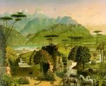 """Garden of Eden"" by Erastus Salisbury Field"