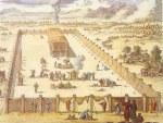 The Tabernacle at Sinai (image credit: Wikipedia)