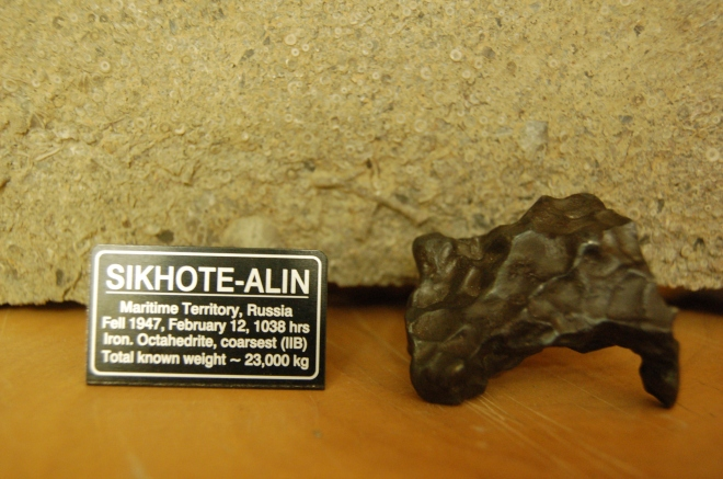 Sikhote Alin iron meteorite from Russia in 1947