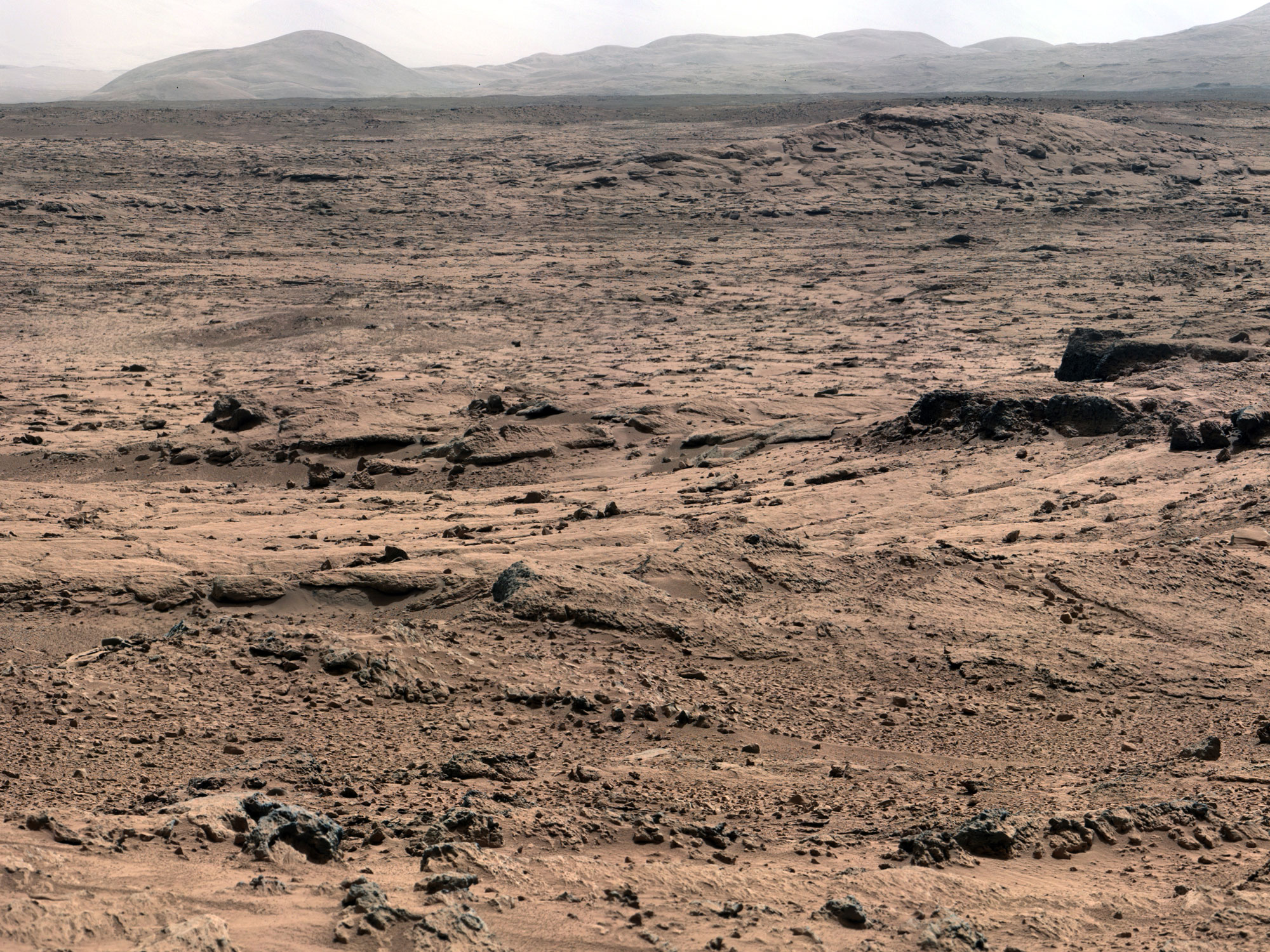 gale crater rover in mars - photo #13