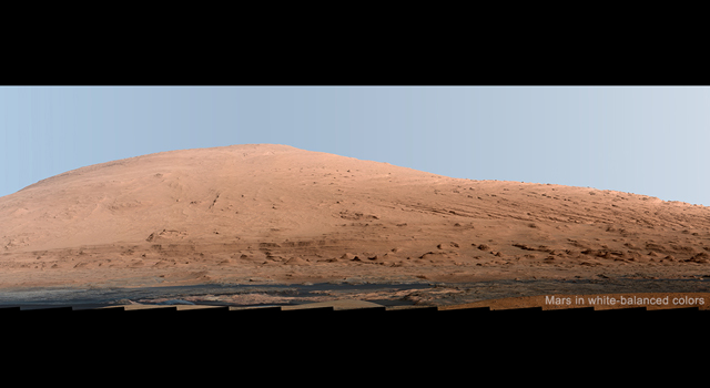 A panorama taken by the Curiosity rover.  Image credit: JPL/NASA/Caltech