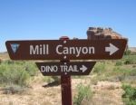 Dinosaut-trail-sign-mill-canyon-moab2-ut