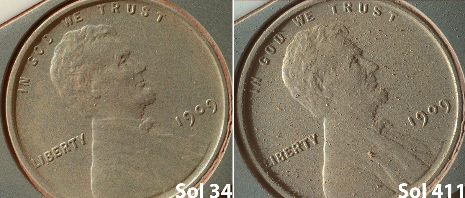 cnn mars rover picture penny - photo #6