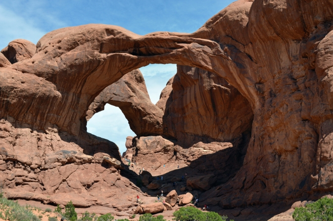 Double Arch in Arches National Park, UT