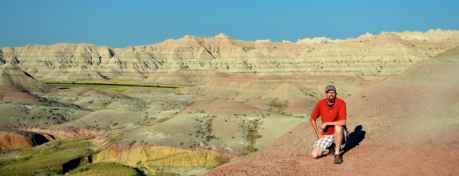 In Badlands National Park in South Dakota, August 2013. Photo by Joel Duff