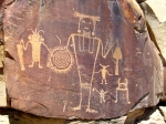 Petroglyph carved into desert varnish found in Dinosaur National Park