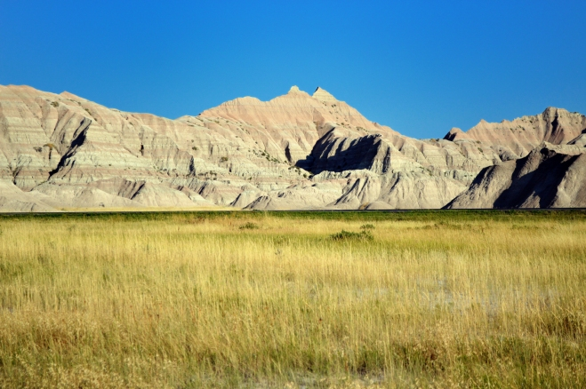 Scene from Badlands National Park, August 2013.