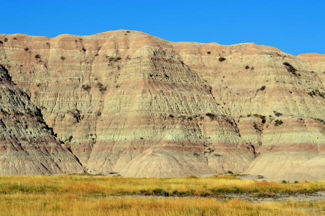 Layers rock in Badlands National Park, SD. Photo: Joel Duff