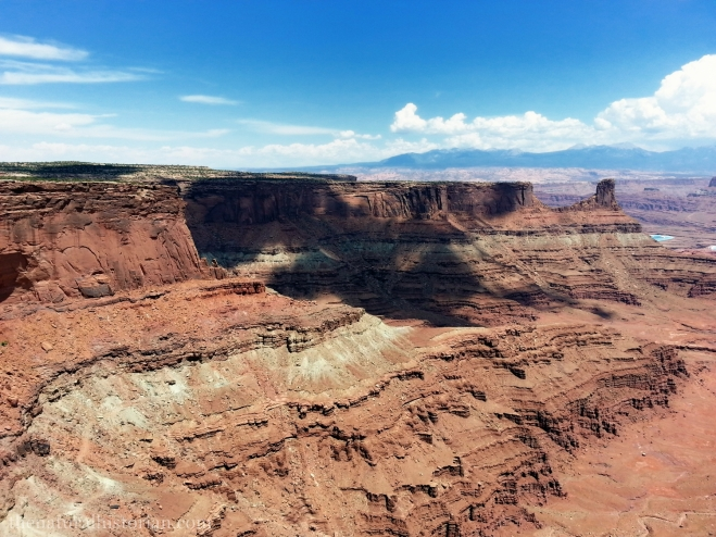 Looking east from the Dead Horse Point visitor center.