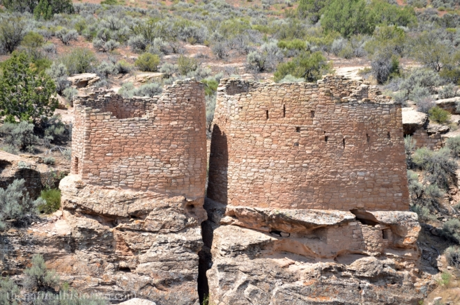 A Hovenweep National Park ruin.