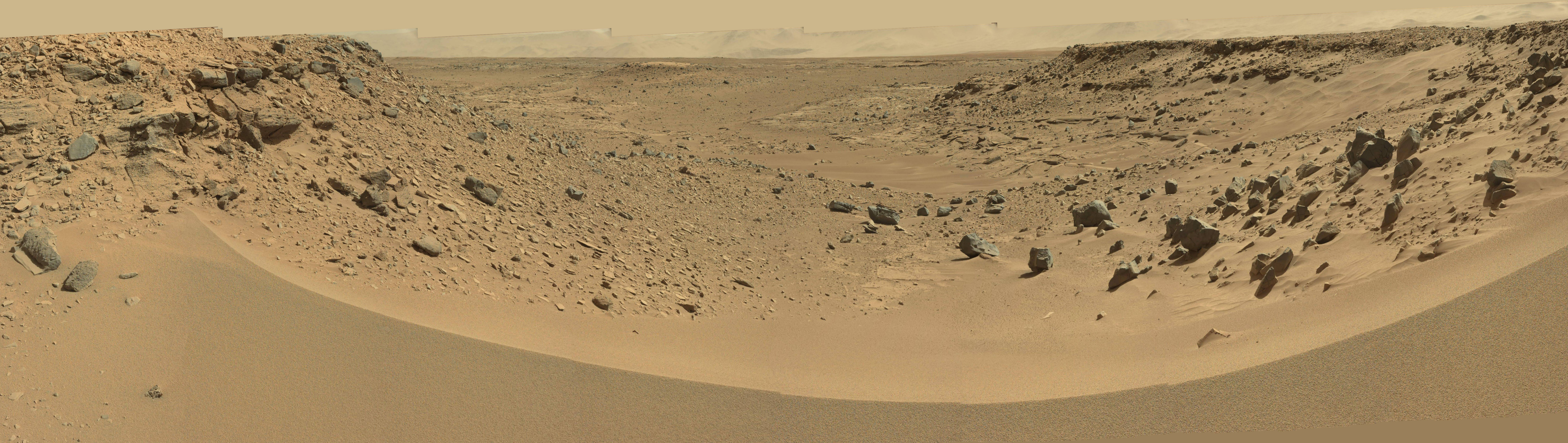 gale crater rover in mars - photo #18