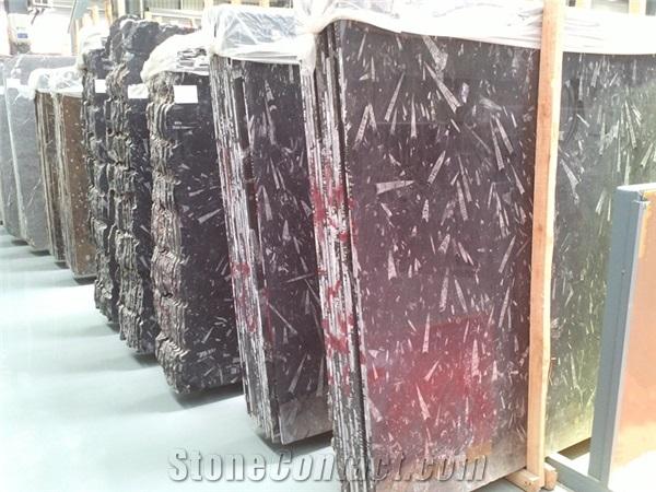 fossil-black-limestone-slabs-tiles-morocco-black-limestone