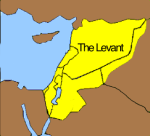 The Levant - The eastern Mediterranean region