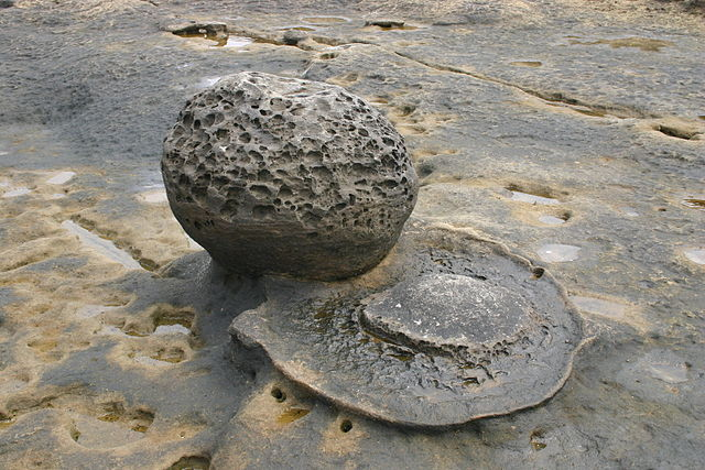 2009 concretion Point Loma