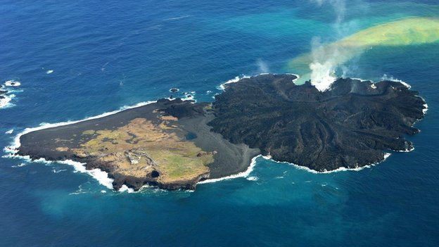 Birth Of An Island In The South Pacific