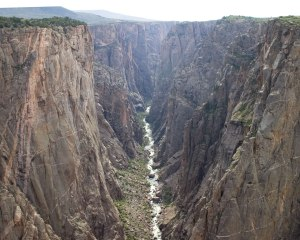 I woudl imagine the deepest portio of the Nile Valley canyon looking like the Black canyon of the Gunnison. Photo credit: NPS/Lisa Lynch
