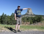 Devils Tower in Wyoming. Photo: Joel Duff, June 2016