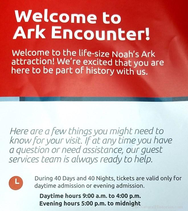 Ark-Encounter-guide-ticket-information