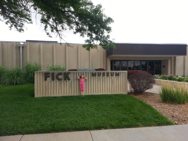 The Fick Fossil and History Museum in Oakley, Kansas.  Photo:  Joel Duff, 2013