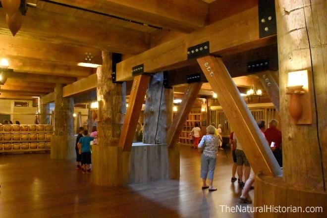 Ark-Encounter-interior-woodwork