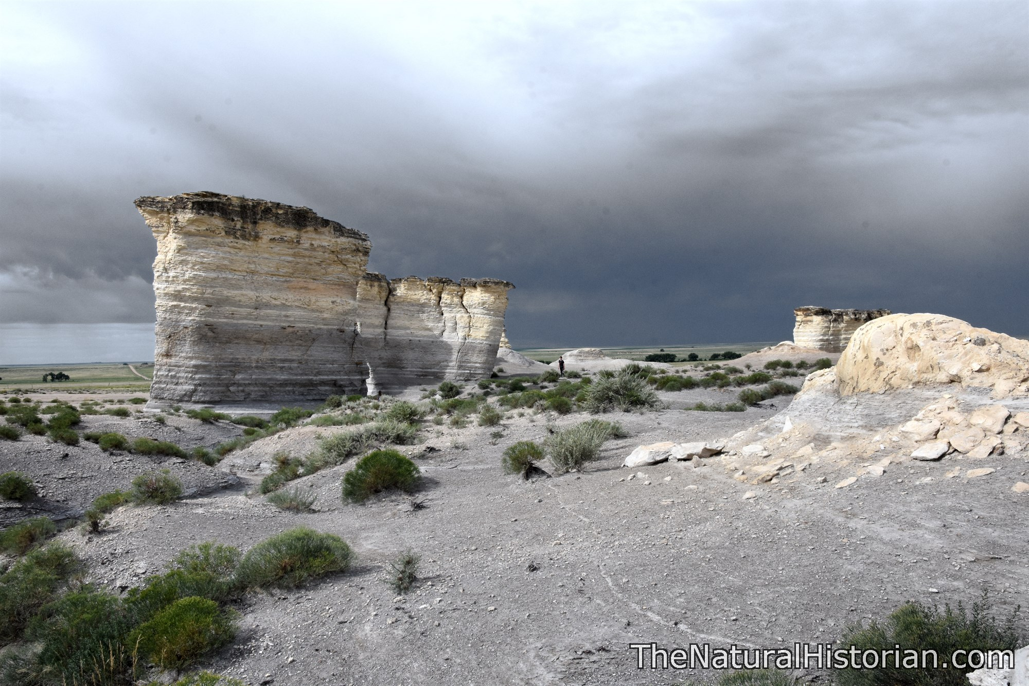 Remnants of a Shallow Sea: A Visit to Monument Rocks in