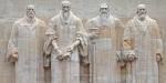 Geneva reformers Feral, Calvin, Beza, Knox